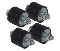 PROFLOW Ignition Box Vibration Mounts - Set of 4