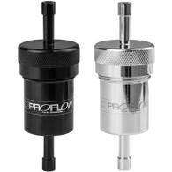 PROFLOW Billet Fuel Filter 3/8 100 micron