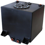 AEROFLOW Alloy 19L Fuel Cell with Cavity/Sump & Fuel Sender - BLACK
