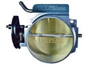 TLG GM LS 4-Bolt Billet Aluminium Throttle Body - 102mm SILVER