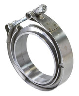 """AEROFLOW 4"""" V-Band Clamp Kit - STAINLESS STEEL"""