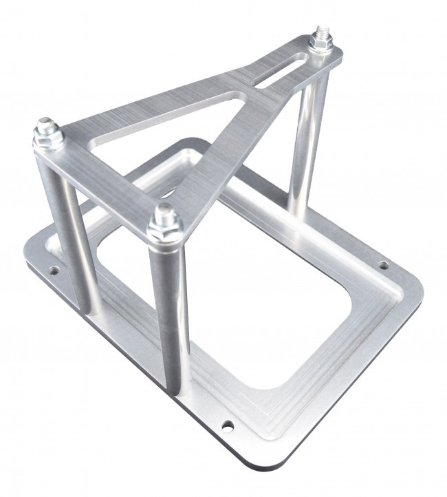 Hold Down Mount Billet Optima Battery Relocation Tray