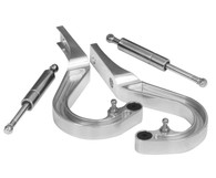 PROFLOW Camaro 67-69 Boot Hinge Kit - Polished