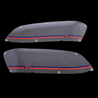 HDT Headlight Covers VF Commodore - Red/Blue