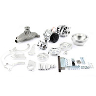 TLG Chevrolet Big-Block Billet Serpentine Pulley Kit - Complete