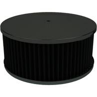 "PROFLOW Black Air Cleaner Assembly - 9"" x 4"""