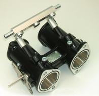 TLG 45DCOE EFI Throttle Body ITB - Black WITH INJECTORS
