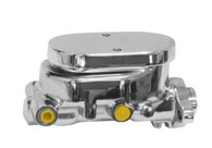 "PROFLOW Master Cylinder Flat Top Alloy 1"" Bore suit GM - Chrome"