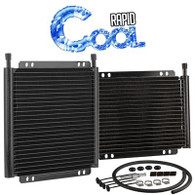 "Standard Plate and Fin Transmission Cooler 11"" x 11 3/8"""