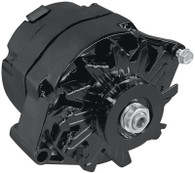 AEROFLOW 100A 1/3 Wire GM Style Alternator  - BLACK