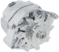 AEROFLOW 120A 1/3 Wire GM Style Alternator  - CHROME