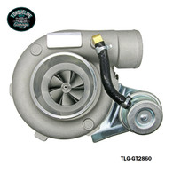 TLG GT2860 Turbocharger - .60AR Front, .64AR Rear INTERNAL WASTEGATE