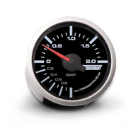 TURBOSMART Boost Gauge 0-2 Bar 52mm TS-0101-2025