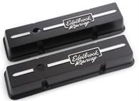 EDELBROCK SBC Die-Cast Aluminium Low-profile Valve Covers