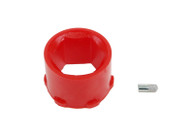 NOLATHANE Front Steering - rack and pinion shaft guide bushing - Suit Holden Commodore VB-VL