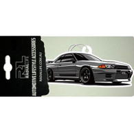 RADIAL LIFE Nissan R32 GT-R Car Air Freshener - Black Ice Scented