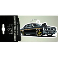 RADIAL LIFE Ford XY GT Falcon Car Air Freshener - Black Ice Scented