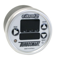 TURBOSMART E-Boost2 60mm White/Silver TS-0301-1001