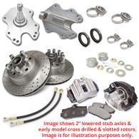TLG Basic Front Drum-to-Disc Brake Conversion Kit - suit Chrysler Valiant AP5-CM