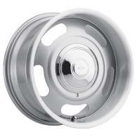 "AMERICAN LEGEND Cruiser Silver wheel - 17x7 with 4-1/4"" Backspace GM"