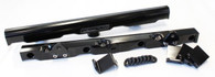 AEROFLOW Billet EFI Fuel Rails - Suit GM LS7 - BLACK