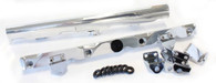 AEROFLOW Billet EFI Fuel Rails - Suit GM LS7 - POLISHED
