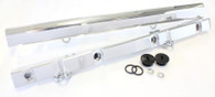 AEROFLOW Billet EFI Fuel Rails - Suit Ford 5L Windsor - POLISHED