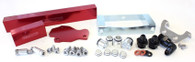 AEROFLOW Billet EFI Fuel Rails - Suit Mazda 13B / RX7 S6, 7 & 8 - RED