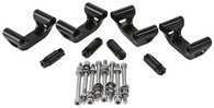 AEROFLOW GM LS Coil Relocation Mounting Bracket kit - BLACK