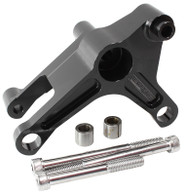 AEROFLOW LS Series Billet Alternator Bracket - BLACK