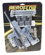 AEROFLOW 4150 Series Dual Carburettor Blower Linkage Kit - POLISHED