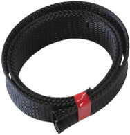 "AEROFLOW PET Flex Braid Heat Sleeve - Up to 1-1/2"" I.D - 7.6M length"