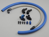 TLG Turbo Oil Feed Line Kit - Toyota 1/2JZ with Single turbo conversion