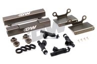 DEATSCHWERKS 1200CC Injectors w/ AUS SPEC Top Feed Conversion Rails Suit GC8 99-00 WRX/STI