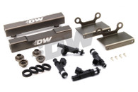 DEATSCHWERKS 1500CC Injectors w/ AUS SPEC Top Feed Conversion Rails Suit GC8 99-00 WRX/STI