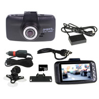 GATOR Super HD 1296P dash cam with 16GB card & GPS