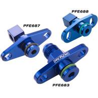 PROFLOW EVO 4-8 and FTO 16mm to 1/8NPT Fuel Rail Adaptor PFE688