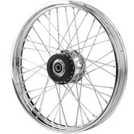 "ATTITUDE INC 40 Spoke Narrowglide Wheel - Suits HD Sportster/Dyna - 21"" x 2.15"""