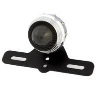 TLG Retro Studded Tail Light w/ Smoked Lens - Aluminium