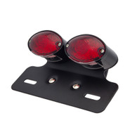 TLG Cats Eye Twin Tail Light - Red Lens - LED