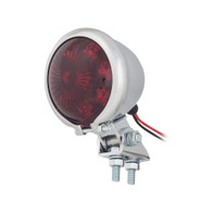 "TLG 2.5"" Round Taillight - Chrome - LED"