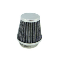 TLG Tapered Chrome Motorcycle Pod Filter - 54mm Inlet
