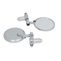 TLG Universal Bar-end Mirrors - Chrome