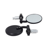 TLG Universal Bar-end Mirrors - Black