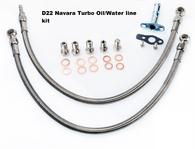 TLG Turbo Oil/Water Feed Line Kit - Nissan Navara D22 - YD25DDT/YD25K2/NP300