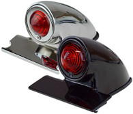 ATTITUDE INC Chopper Tail Light - Chrome