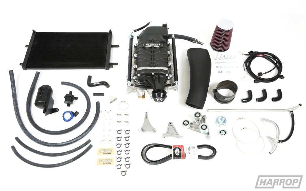 HARROP Ford Falcon V8 HTV2300 Supercharger kit - BA-FG Boss 5 4L