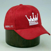 RADIAL LIFE Crown Suede Strap Back - Red