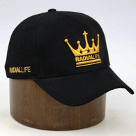 RADIAL LIFE Crown Suede Strap Back - Black