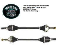 TLG Super Duty IRS Driveshafts suit BA-BF Falcon - XR6T & XR8 - PAIR